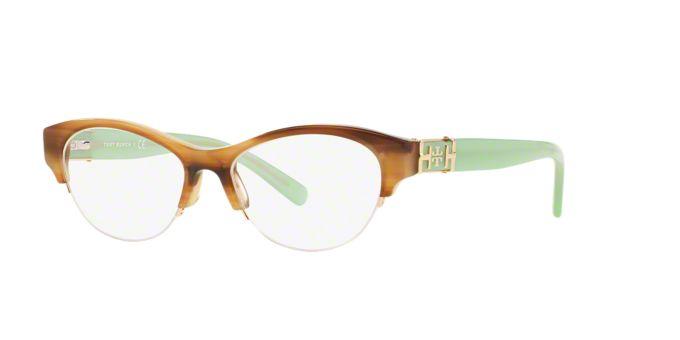 TY2046: Shop Tory Burch Semi-Rimless Eyeglasses at ...