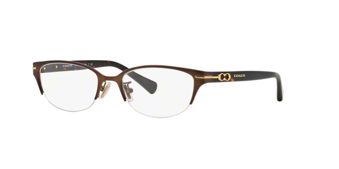 HC5058: Shop Coach Semi-Rimless Eyeglasses at LensCrafters