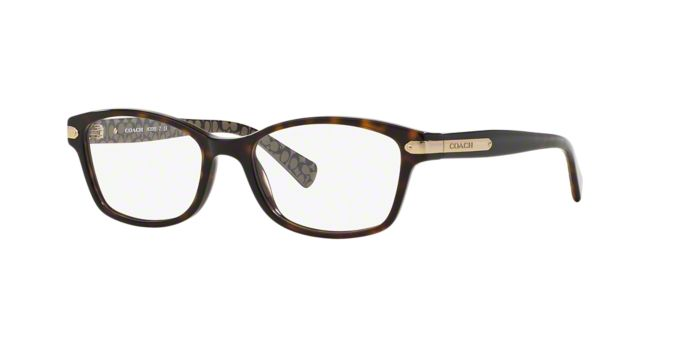 HC6065: Shop Coach Rectangle Eyeglasses at LensCrafters