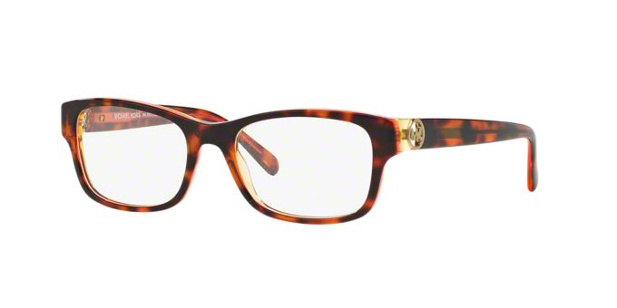 MK8001 RAVENNA: Shop Michael Kors Square Eyeglasses at ...