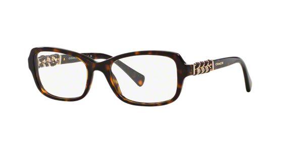 Coach Eyeglass Frames With Butterflies : HC6075QF: Shop Coach Tortoise Butterfly Eyeglasses at ...