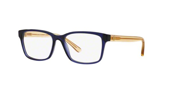 TY2064: Shop Tory Burch Blue Square Eyeglasses at LensCrafters