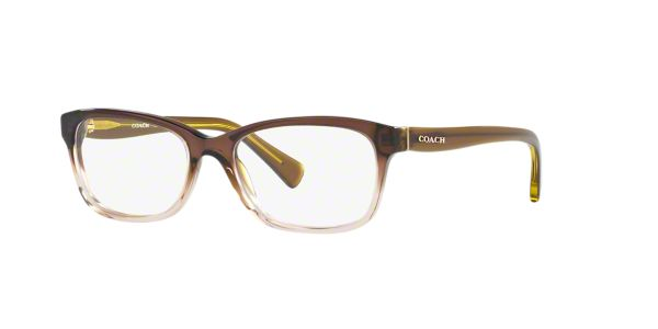 Coach Eyeglass Frames Lenscrafters : HC6089: Shop Coach Green Rectangle Eyeglasses at LensCrafters