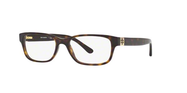 Tory Burch Eyeglass Frames Lenscrafters : TY2067: Shop Tory Burch Tortoise Rectangle Eyeglasses at ...
