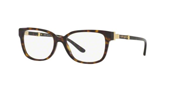Tory Burch Eyeglass Frames Lenscrafters : TY2075: Shop Tory Burch Tortoise Square Eyeglasses at ...