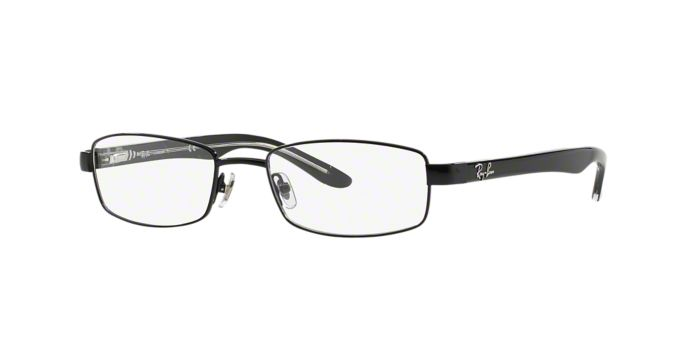 Titanium Eyeglass Frames Lenscrafters : RX8581: Shop Ray-Ban Rectangle Eyeglasses at LensCrafters