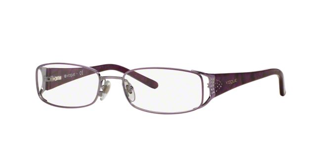 VO3671B: Shop Vogue Pillow Eyeglasses at LensCrafters