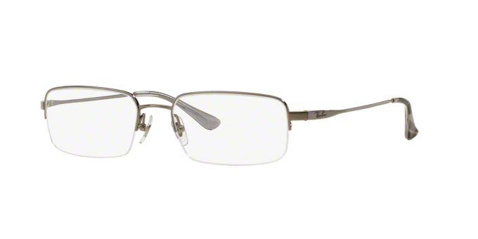 Titanium Eyeglass Frames Lenscrafters : RX8632: Shop Ray-Ban Semi-Rimless Eyeglasses at LensCrafters