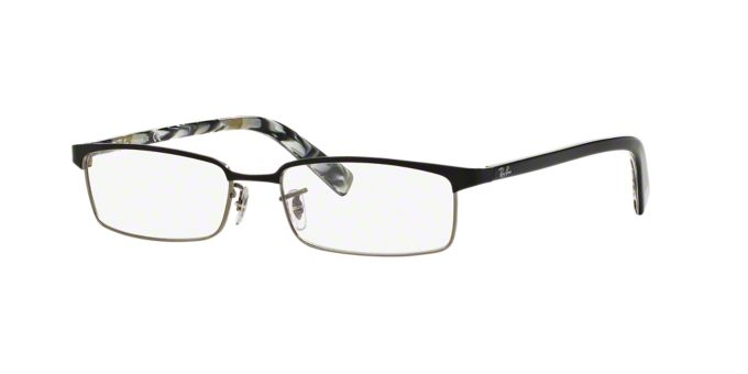 Titanium Eyeglass Frames Lenscrafters : RX8633: Shop Ray-Ban Rectangle Eyeglasses at LensCrafters