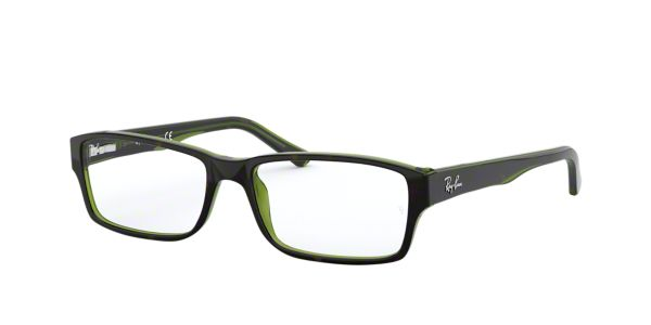 Ray Ban Eyeglass Frames Lenscrafters : RX5169: Shop Ray-Ban Tortoise Rectangle Eyeglasses at ...