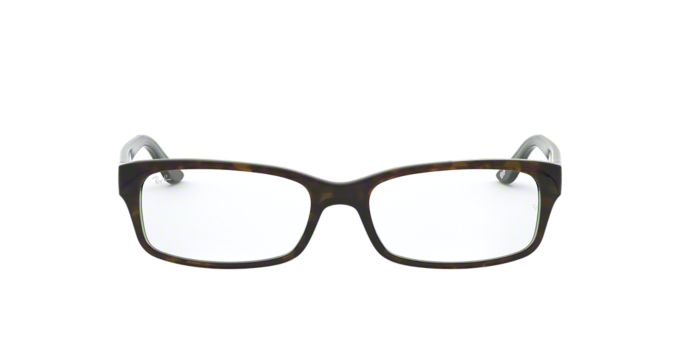 Glasses Frames Lenscrafters : RX 5187: Shop Ray-Ban Tortoise Rectangle Eyeglasses at ...