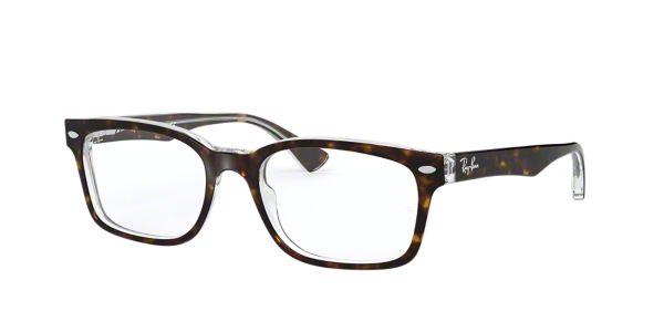Eyeglass Frames At Lenscrafters : RX5286: Shop Ray-Ban Tortoise Square Eyeglasses at ...