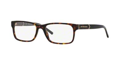 be2150 shop burberry tortoise rectangle eyeglasses at