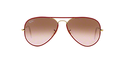 pilot ray ban esls  Ray-Ban SUNGLASSES RB3025JM 55 AVIATOR FULL COLOR
