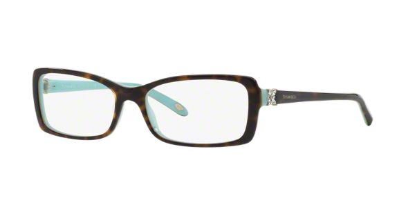 Glasses Frames Lenscrafters : TF2091B: Shop Tiffany Tortoise Rectangle Eyeglasses at ...