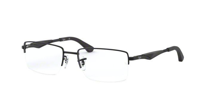 RX6285: Shop Ray-Ban Semi-Rimless Eyeglasses at LensCrafters