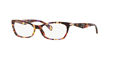 pr 15pv shop prada geometric eyeglasses at lenscrafters