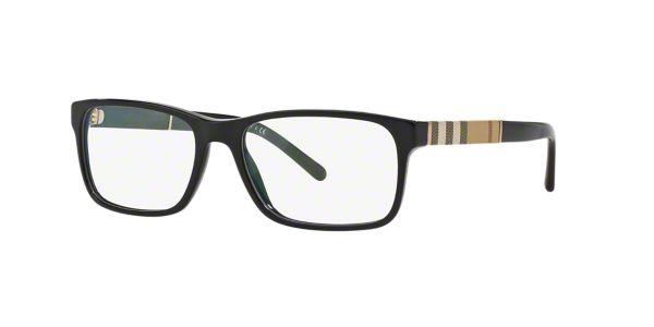 Fake Burberry Glasses Frames : BE2162: Shop Burberry Black Rectangle Eyeglasses at ...