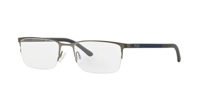 PH1150: Shop Polo Ralph Lauren Semi-Rimless Eyeglasses at ...