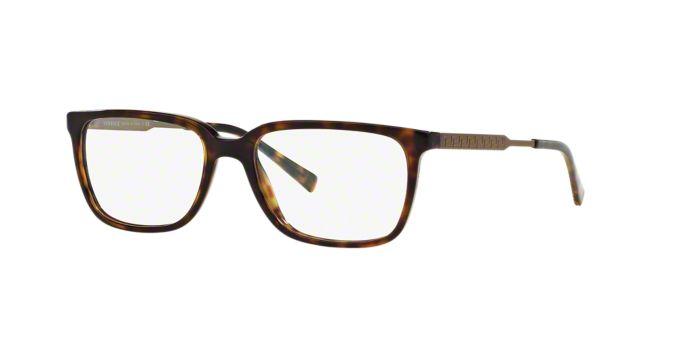VE3209: Shop Versace Rectangle Eyeglasses at LensCrafters