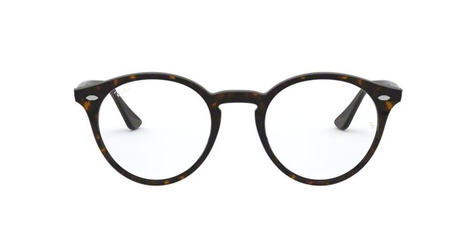 Ray Ban Eyeglass Frames Lenscrafters : RX2180V: Shop Ray-Ban Tortoise Round Eyeglasses at ...
