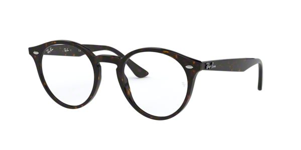 Eyeglass Frames From Lenscrafters : RX2180V: Shop Ray-Ban Tortoise Round Eyeglasses at ...