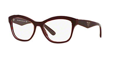 pr 29rv shop prada cat eye eyeglasses at lenscrafters