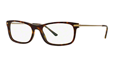 be2195 shop burberry rectangle eyeglasses at lenscrafters