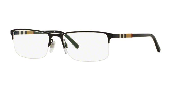 BE1282: Shop Burberry Rectangle Eyeglasses at LensCrafters