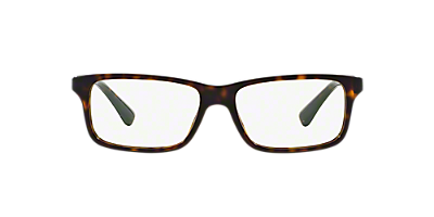 pr 06sv shop prada tortoise rectangle eyeglasses at