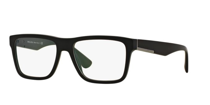 PR 07SV: Shop Prada Rectangle Eyeglasses at LensCrafters