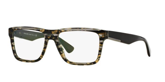 PR 07SV: Shop Prada Rectangle Eyeglasses at LensCrafters