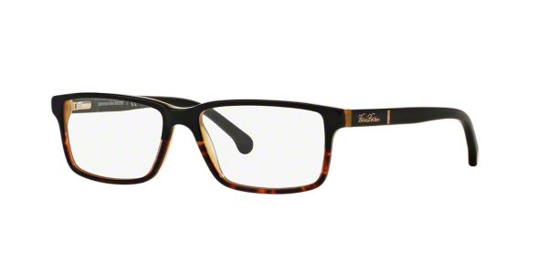 Brooks Brothers Eyeglass Frames Lenscrafters : BB2029: Shop Brooks Brothers Black Rectangle Eyeglasses at ...