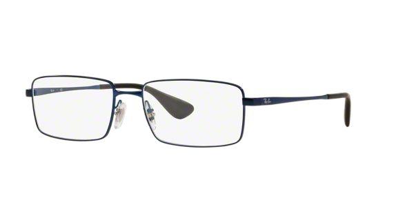 RX6337M: Shop Ray-Ban Blue Square Eyeglasses at LensCrafters