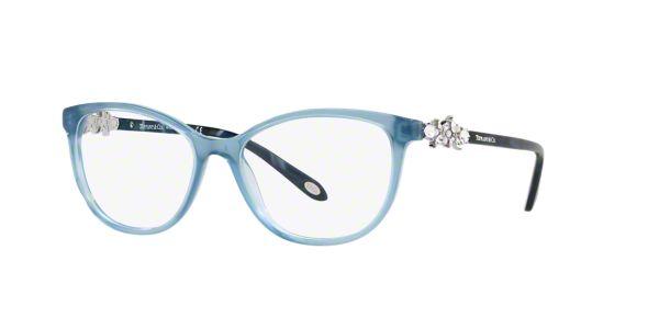 TF2144HB: Shop Tiffany Blue Cat Eye Eyeglasses at LensCrafters