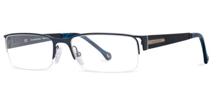 VZ3313: Shop Zegna Semi-Rimless Eyeglasses at LensCrafters