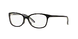OX1131 STANDPOINT: Shop Oakley Black Round Eyeglasses at