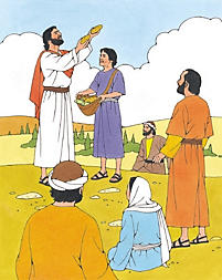 Puzzle: Jesus Fed the People
