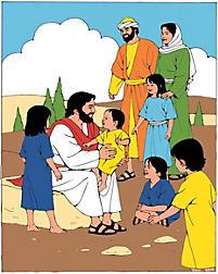 Puzzle: Jesus and the Children