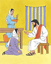 Puzzle: Jesus Visited Friends