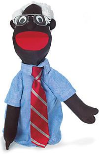 Puppet Large Grandpa African American