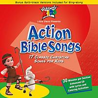 Cedarmont Kids CDs: Action Bible Songs