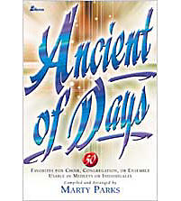 Ancient of Days - Choral Book