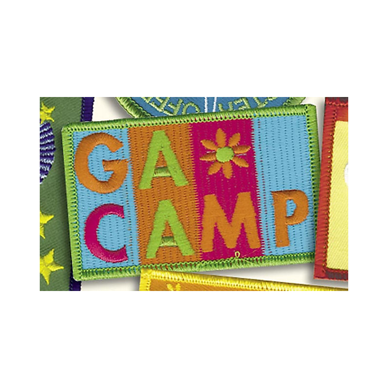 GA CAMP BADGE
