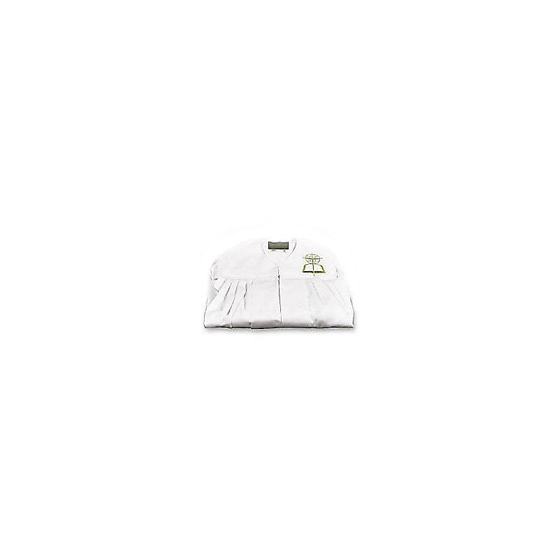 Baptismal Gown w/SBC logo - White - Adult Large