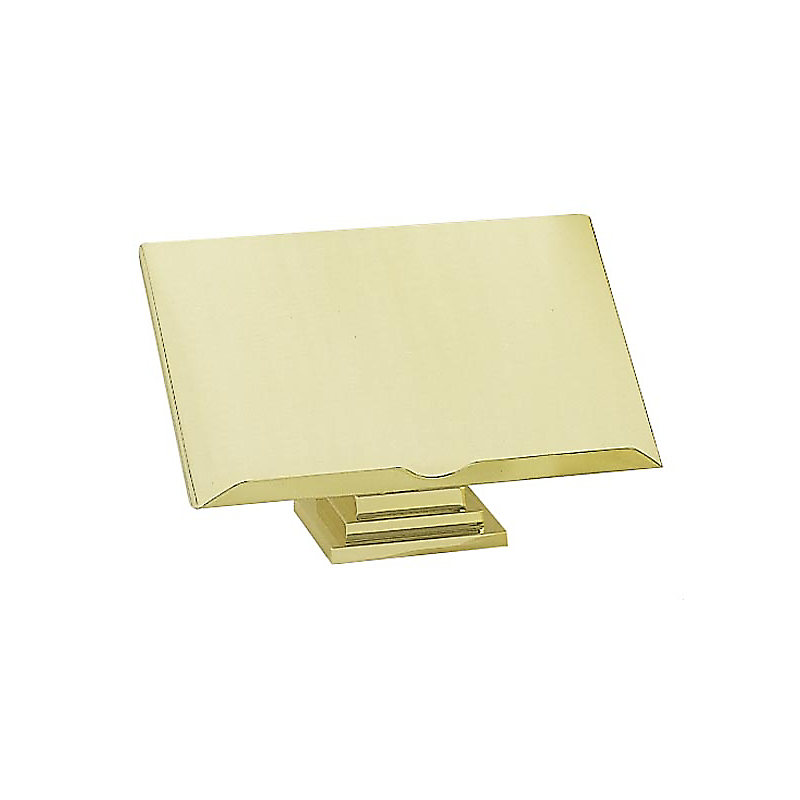 Heavy Brass Base Tabletop Bible Stand with Larger Top