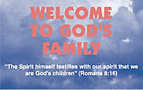 Welcome to God's Family Tract