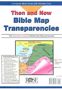Then and Now - Bible Map Transparencies