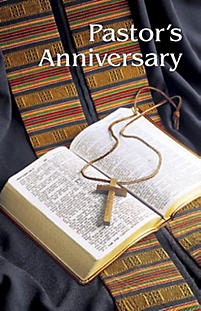Special Occasion Bulletin: Pastor's Anniversary