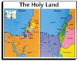 Map The Middle East Then and Now LifeWay Christian Maps Charts